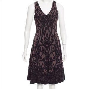 Zac Posen Textured Knit Dress